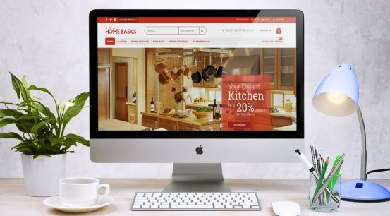 WestBrook Neat Home Basics Web Design